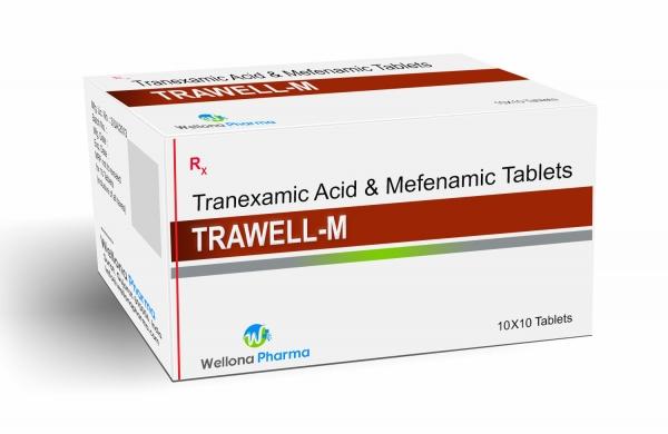 Tranexamic Acid & Mefenamic Tablets Manufacturer & Supplier