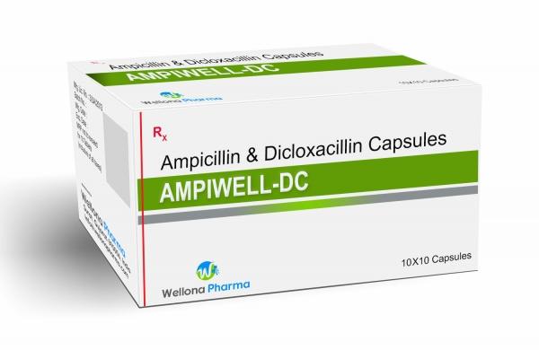 Ampicillin & Dicloxacillin Capsules