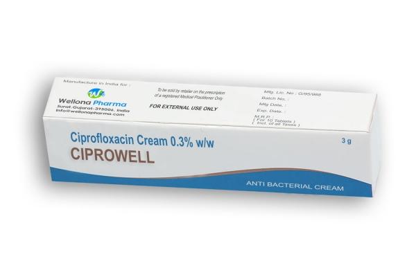 Ciprofloxacin Cream