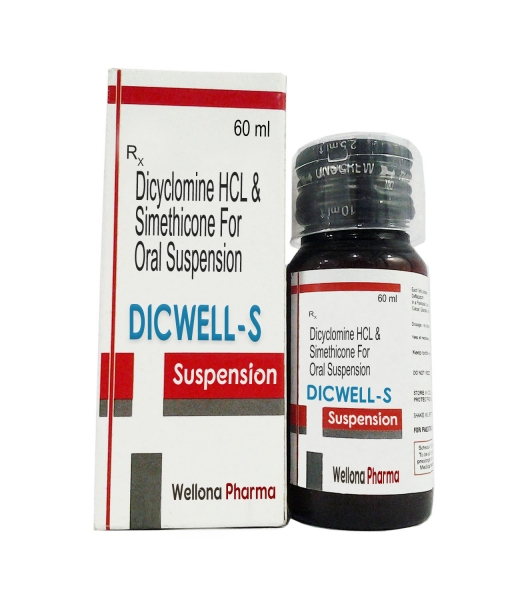 Dicyclomine Hcl & Simethicone Suspension