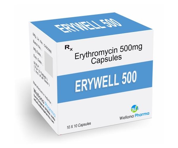 Erythromycin Capsules