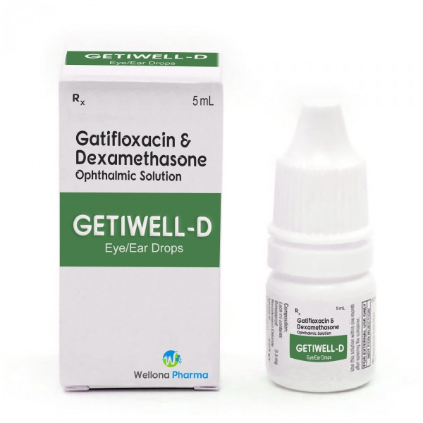 Gatifloxacin & Dexamethasone Eye Drops