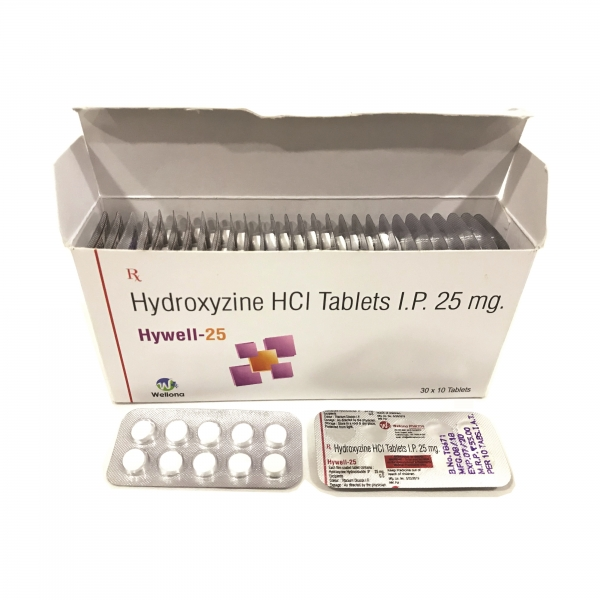 Hydroxyzine Hcl Tablets