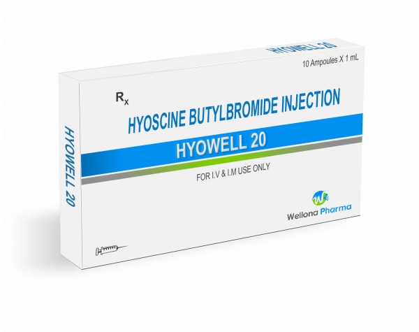 Hyoscine Butylbromide Injection