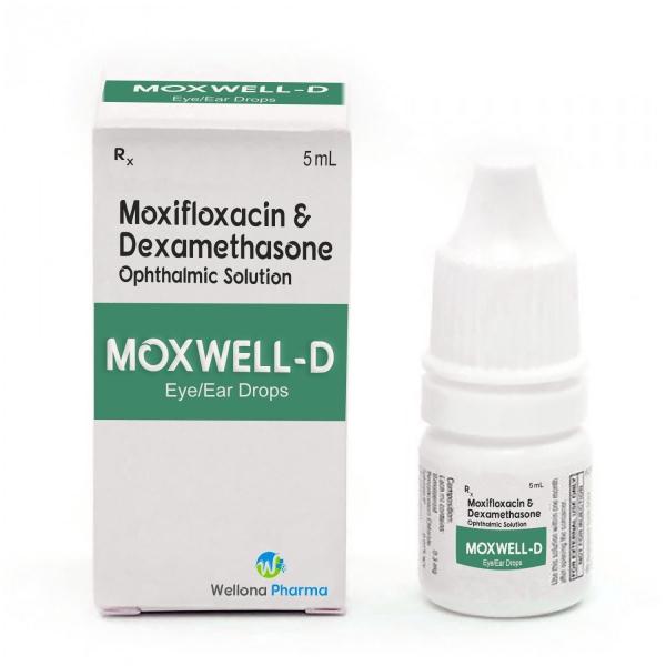 Moxifloxacin & Dexamethasone Eye Drops