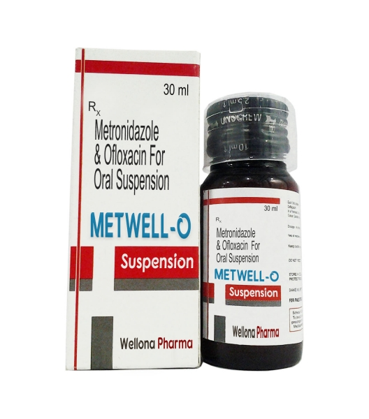 Ofloxacin & Metronidazole Suspension