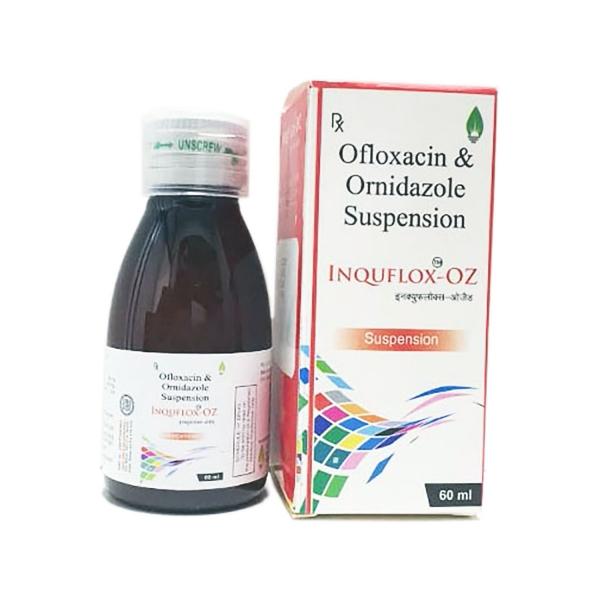 Ofloxacin & Ornidazole Suspension