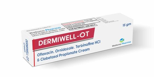 Ofloxacin Ornidazole Terbinafine & Clobetasol Cream