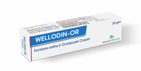 Povidone Iodine & Ornidazole Cream