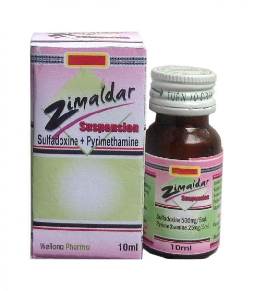 Sulfadoxine & Pyrimethamine Suspension