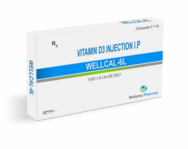 Cholecalciferol (Vitamin D3) Injection